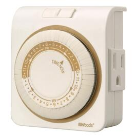 Daily Mechanical Indoor Appliance Timer, with 3 Conductors thumb