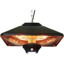 700W - 1500W Outdoor Infrared Hanging Gazebo Heater, with LED and Remote thumb