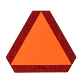 "12"" x 12"" Stick-On Slow Moving Vehicle Sign thumb"