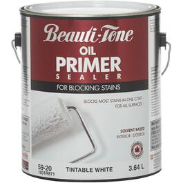 3.64L White Interior/Exterior Alkyd Primer Sealer thumb