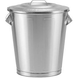 5 Gallon Galvanized Can, with Lid, for Bird Seed thumb
