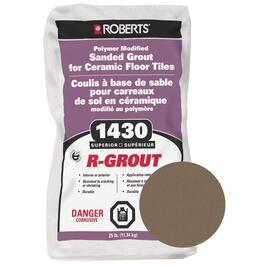 25lb Mocha Sanded Floor Grout thumb