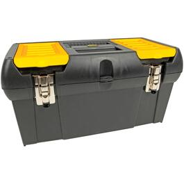 "19"" x 10"" x 10"" Tool Box, with Plastic Tray thumb"