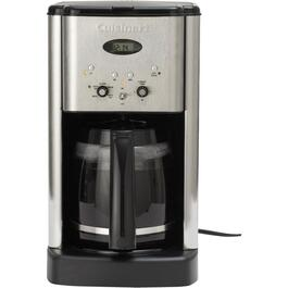 12 Cup Black/Stainless Steel Cone Coffee Maker thumb
