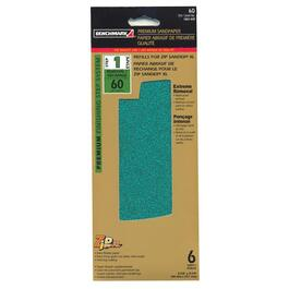6 Pack 60 Grit Hook and Loop Sandpaper Refills thumb