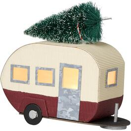 "7.5"" Retro Camper with Tree Tabletop Decor thumb"