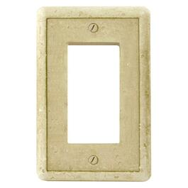 Earth-Stone 1-Gang Decora Wall Plate thumb