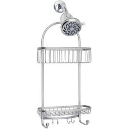 York Lyra Silver Shower Caddy thumb