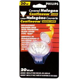 20W MRC16 GU5.3 Base Halogen Flood Light Bulb thumb