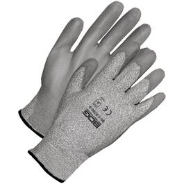 Large Grey Level 3 Cut Resistant High Performance Polyethylene Gloves thumb