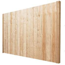 5' Spruce Sanded Four Sides Jasper Privacy Fence Package thumb