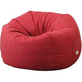 Chili Faux Suede Beanbag Chair thumb