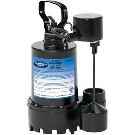 1/3 Horse Power Sump Pump, with Vertical Float Switch thumb