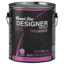 3.48L Trim & Door Medium Base Silk Finish Latex Paint thumb