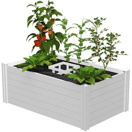 3' x 5' Raised Keyhole Garden Planter thumb