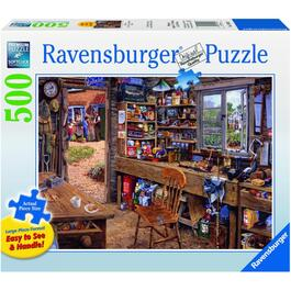 500 Piece Large Piece Puzzle, Assorted Puzzles thumb