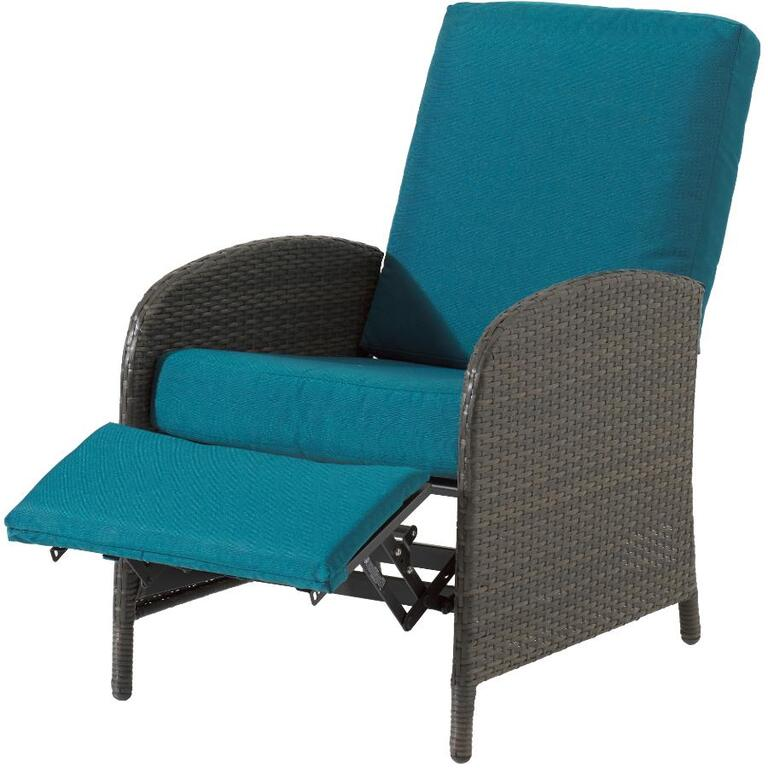 INSTYLE OUTDOOR:Athens Wicker Reclining Chair, with Cushion