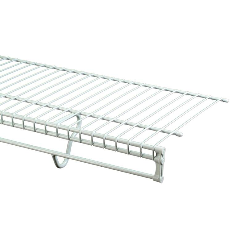12 X 12 Wire Shelving | Closetmaid 12 X 12 White Totalslide Wire Shelf Home Hardware Canada