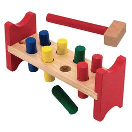 Pound-A-Peg Wood Bench thumb