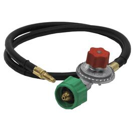 "48"" Liquid Propane Stove Hose, with Regulator and Quick Closing Coupling thumb"