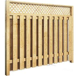 5' Pressure Treated Privacy Lattice Fence Package thumb