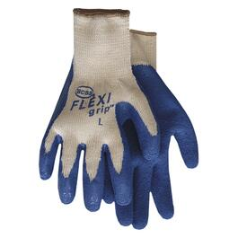Men's Large Flexi Grip Poly/Cotton/Latex Garden Gloves thumb