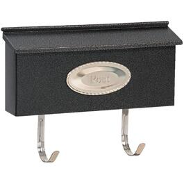 Granite Black Ranch Wallmount Mailbox thumb