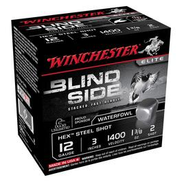"25 Rounds 3"" 12 Gauge #2 Blind Side Ammo thumb"