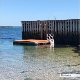 10' x 12' Floating Dock Edge Package thumb