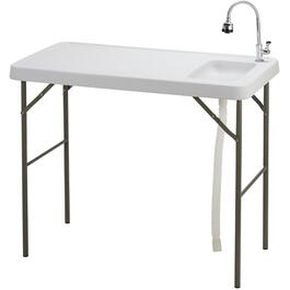 Multi-Purpose Folding Table, with Sink thumb