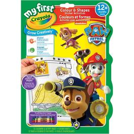 Paw Patrol Colouring and Sticker Book thumb
