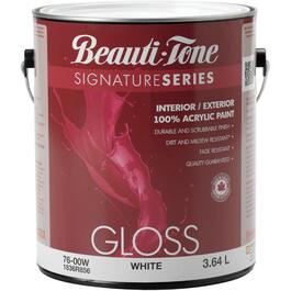 3.64L Gloss White Interior/Exterior Latex Paint thumb