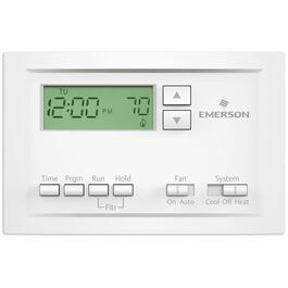 Programmable Single Stage Thermostat with 5-1-1 Scheduling thumb
