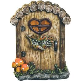 "6"" Fairy House Solar Light, Assorted Designs thumb"
