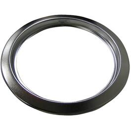 "6"" Satin Chrome Trim Ring thumb"