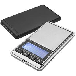 1kg Plastic/Stainless Steel Digital Travel Kitchen Scale thumb
