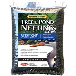 26' x 26' Black Stretchy Netting for Ponds and Trees thumb