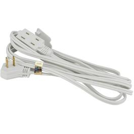 4M SPT2 16/2 White Extension Cord with Thin Plug thumb
