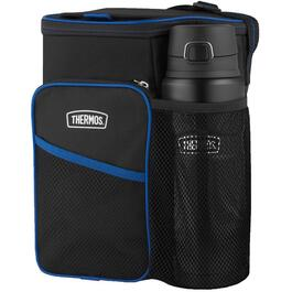 Insulated Lunch Bag, with 0.7L Stainless Steel Water bottle thumb