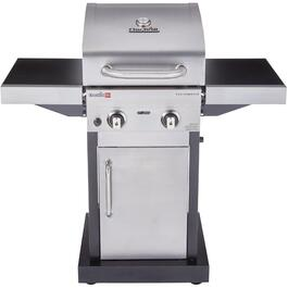 Infrared 2 Burner 300 sq. in. 18,000BTU Stainless Steel Propane Barbecue, with Cabinet thumb