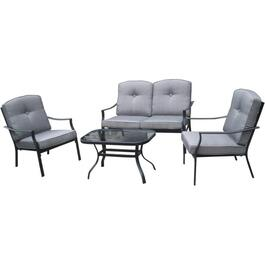 4 Piece Grandon Park Conversation Set thumb