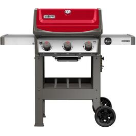 Spirit II E-310 3 Burner 529 sq. in. 30,000BTU Red Propane Barbecue thumb