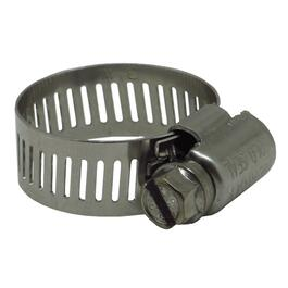 "25 Pack #10 3/4"" All Stainless Steel Hose Clamps thumb"