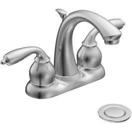 Bayhill Chrome 2 Lever Lavatory Faucet thumb