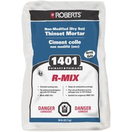50lb Grey Premium Dry Set R-Mix Thinset Tile Mortar thumb