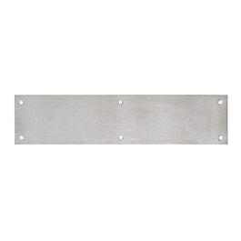 "3-1/2"" x 15"" Stainless Steel Commercial Push Plate thumb"