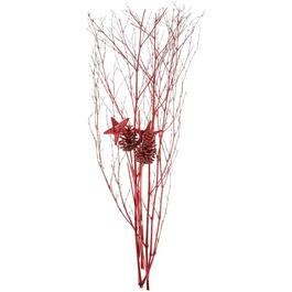Red Pinecones/Stars Branches Bundle thumb