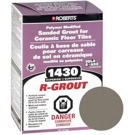 7lb Carbon Grey Sanded Floor Grout thumb