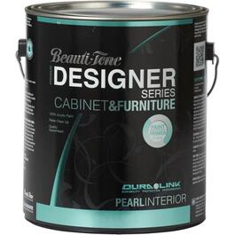 3.7L Cabinet and Furniture Black Interior Acrylic Paint thumb