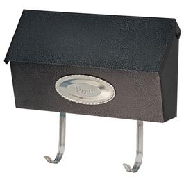 "15"" Black Granite Swedish Wallmount Mailbox thumb"